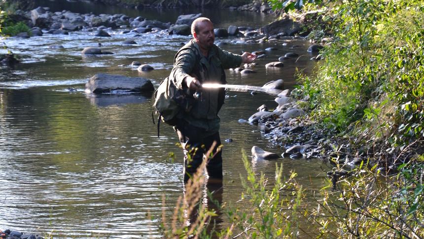 Dodržiavanie vzdialenosti pri love rýb