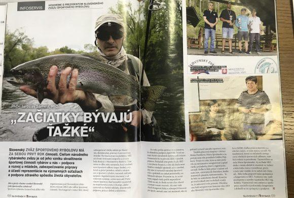 Píšu o nás – Slovenský rybár 3/2021 a Poľovníctvo a rybárstvo 3/2021