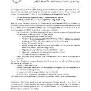 Zrušené MS žien a ME v LRU-mucha 2021